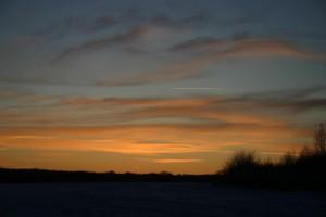 dusk in winter 2
