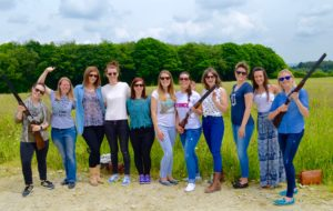 hen picture clay shooting