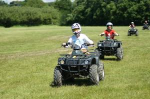 boys on quads