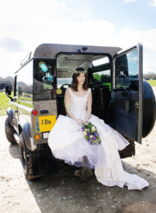 bride in defender